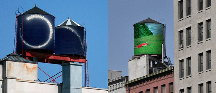 300 New York City Water Towers To Be Transformed Into Art By The