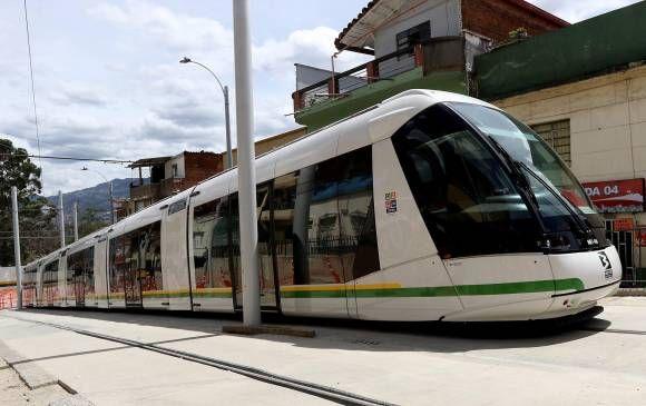 Las obras civiles del tranvía tienen un avance de más del 80 por ciento. FOTO julio césar herrera