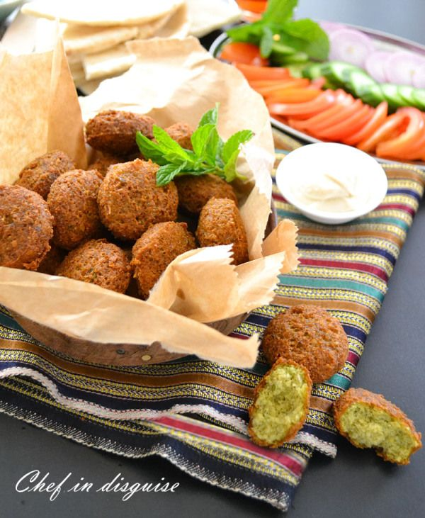 A Common Theory For The Origin Of Falafel Is That The Dish Originated In Egypt Possibly Eaten By Copts As A Replacement For Falafel Recipe Food Halal Recipes