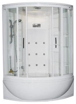 Ariel Zaa212 Steam Shower Whirlpool Bathtub Modern Steam Showers Shower Tub Steam Shower Enclosure Whirlpool Tub