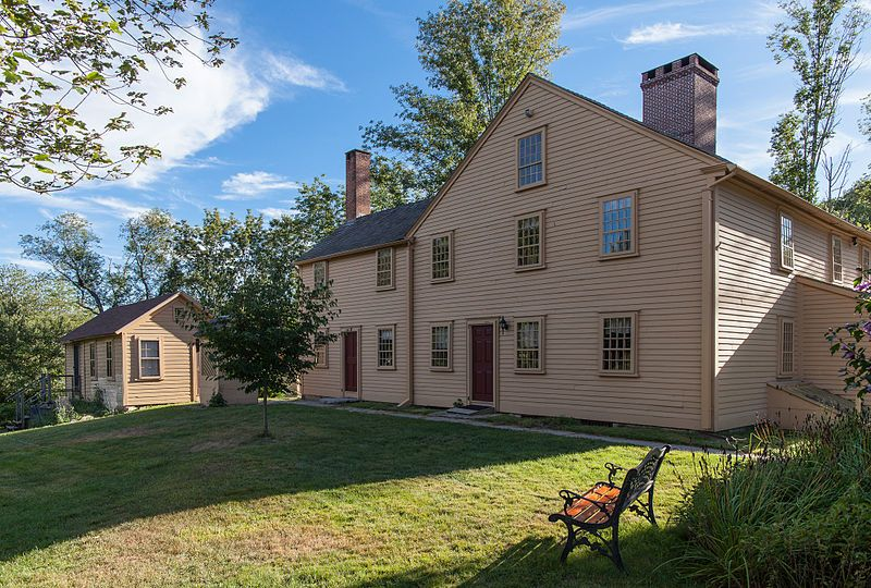 The SmithAppleby House Museum, built in 1696, is a