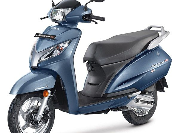 2017 Honda Activa 125cc with BS-IV Engine launched in India