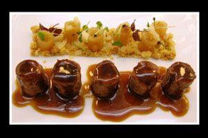 Receta de Confit de pato con peras, Restaurante La Gastroteca del Balneario, Gran Hotel Cascada