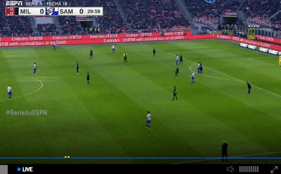 Inter Milan Vs Napoli En Vivo Y En Directo Soccer Field Soccer Esp