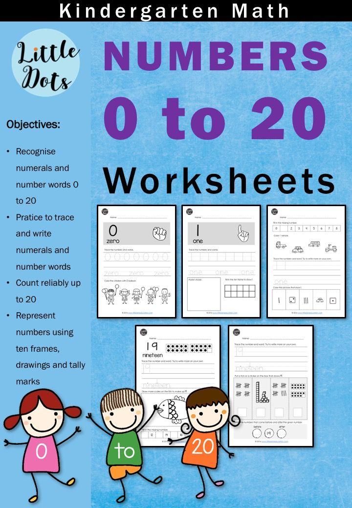 Download numbers and counting worksheets & activities for ...
