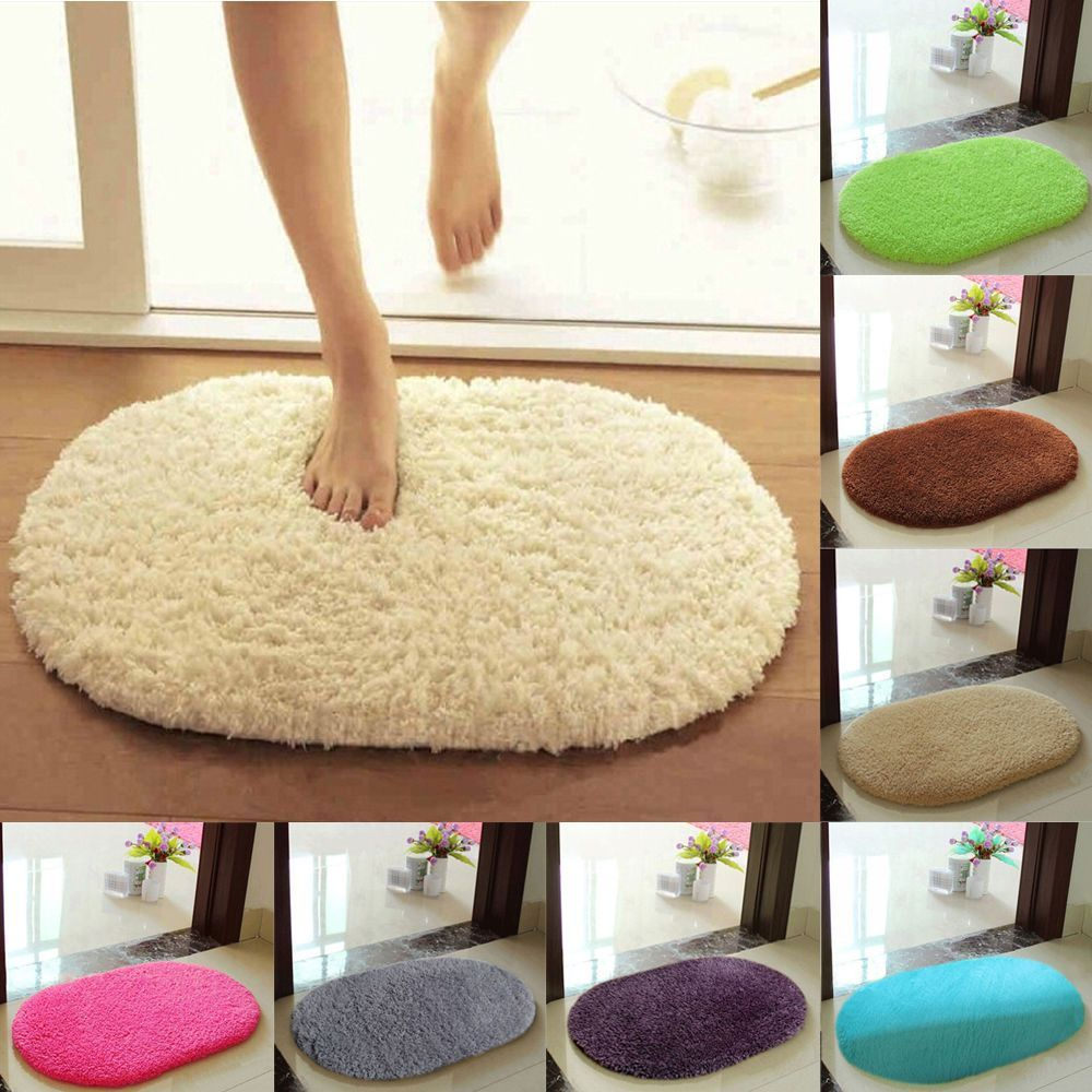 Soft Absorbent Memory Foam Bath Bedroom Floor Shower Shaggy Mat