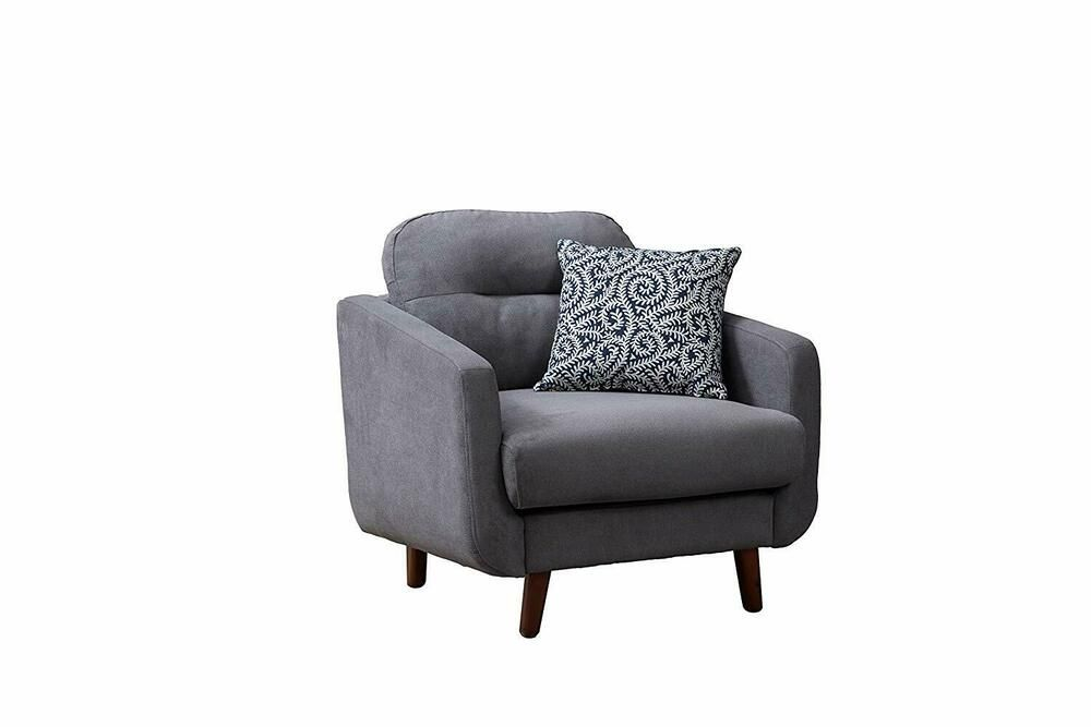 Belmont Home Bh Glasgow Linen Urban Track Arm Chair Gray Belmonthome Wooden Armchair Slipcovers For Chairs Armchair