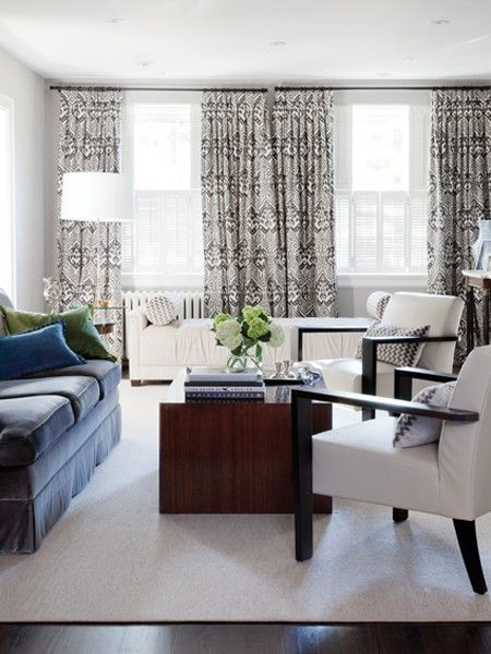 Fresh Fabric | Photo Gallery: Budget Living Room Decorating Tips | House U0026  Home