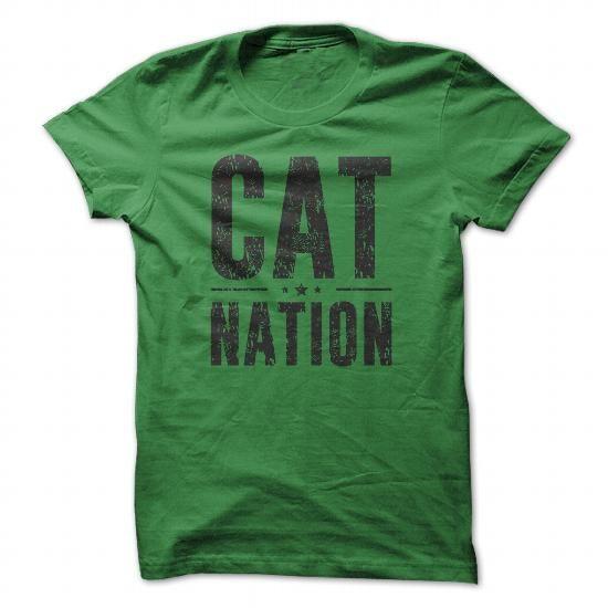 CAT NATION (BLACK) T-SHIRTS, HOODIES, SWEATSHIRT (21$ ==► Shopping Now)