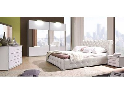 Lit Chester Chambre A Coucher Blanche Chambre A Coucher Complete