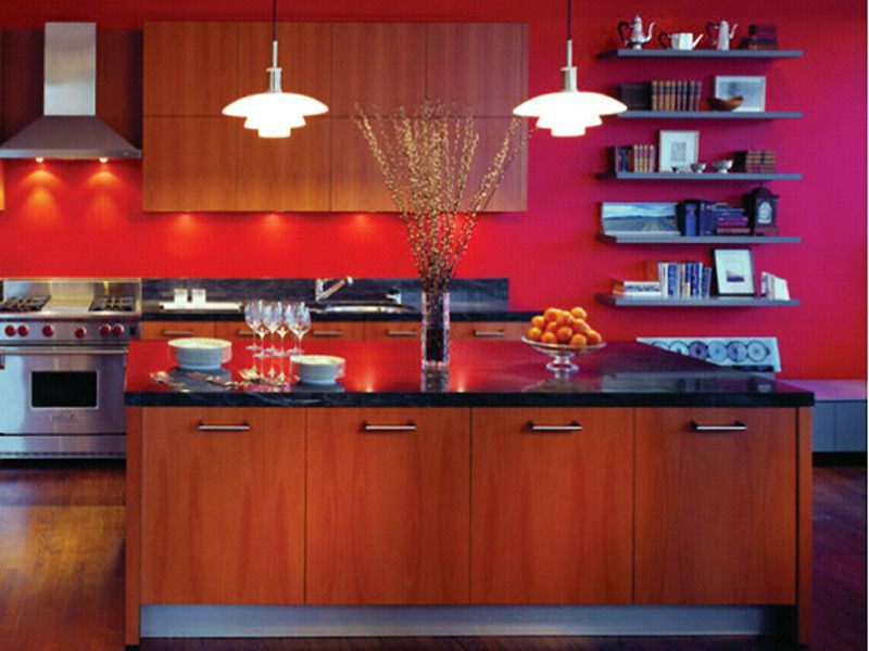 Google Image Result For Http Assets Davinong Com Images Entry 2011 09 25 11317 Red Kitchen Decorating Red Kitchen Decor Red Kitchen Walls Kitchen Decor Sets