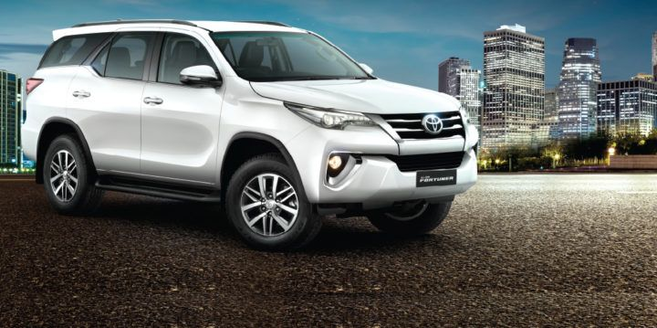 All NEW Toyota Fortuner 4x4 Automatic in white, only one