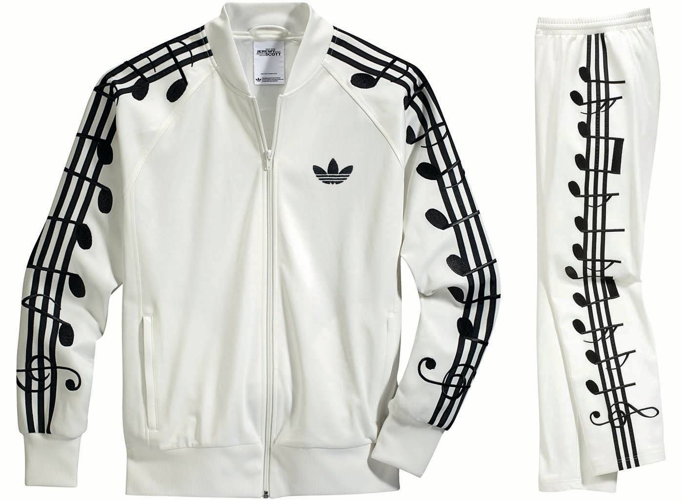 adidas Originals Music Note Tracksuits Rock Super Bowl XLVI Halftime Show  (3)