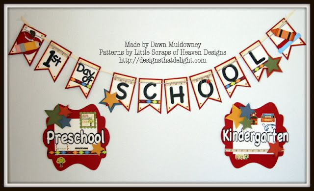 dawns designs that delight back to school banners with signs my
