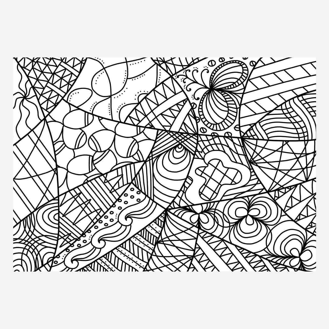 Coloring pages adults pdf - Zentangle Digital Colouring For Adults Zen Colouring Zen Coloring Page Print Coloring Page Adult Coloring Sheet Doodle Gift Print