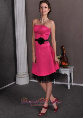 Collection Hot Pink And Black Dress Pictures - Reikian