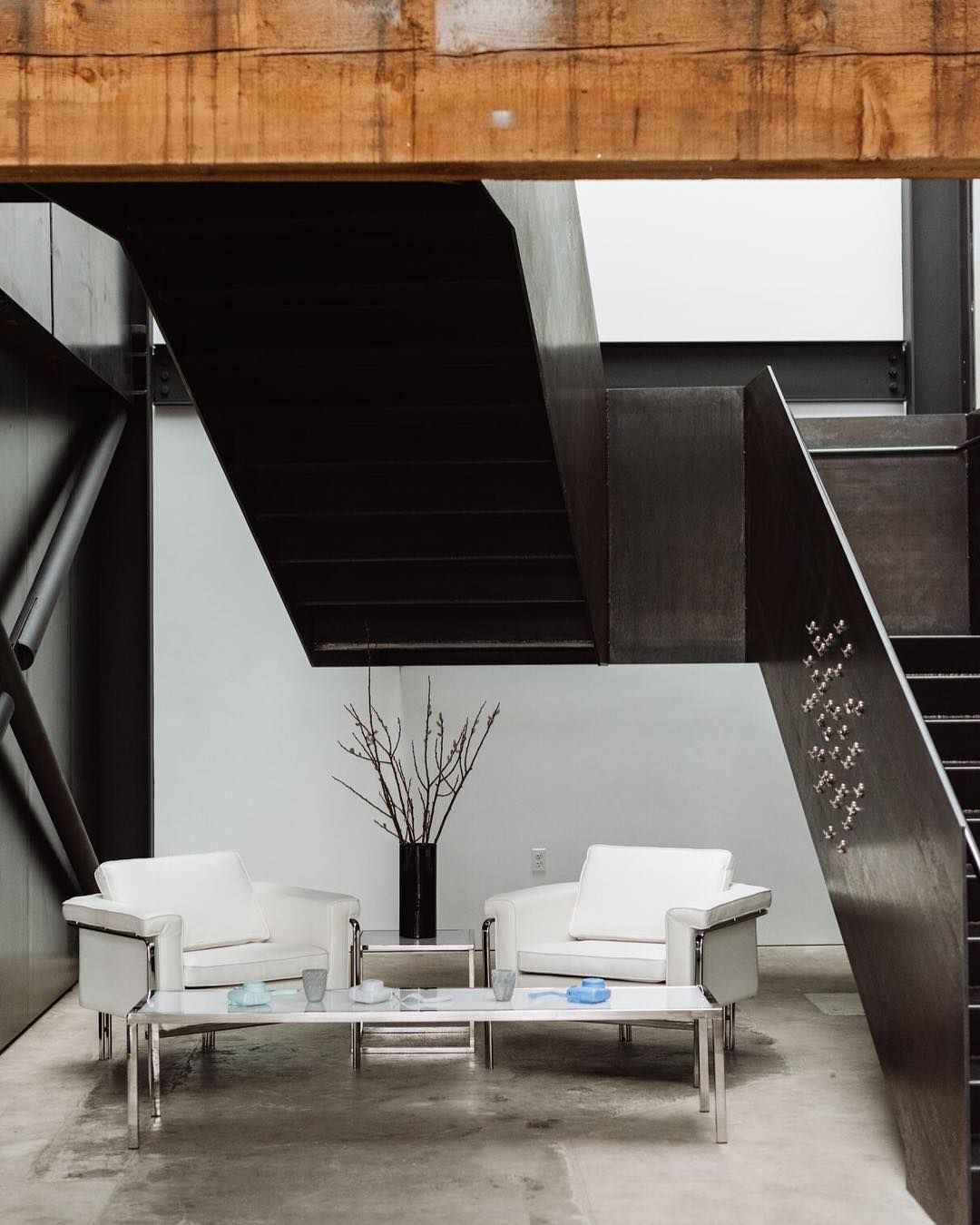 Bon Modern Event Furniture And Wood Beams! #Seattle #Modern #Party