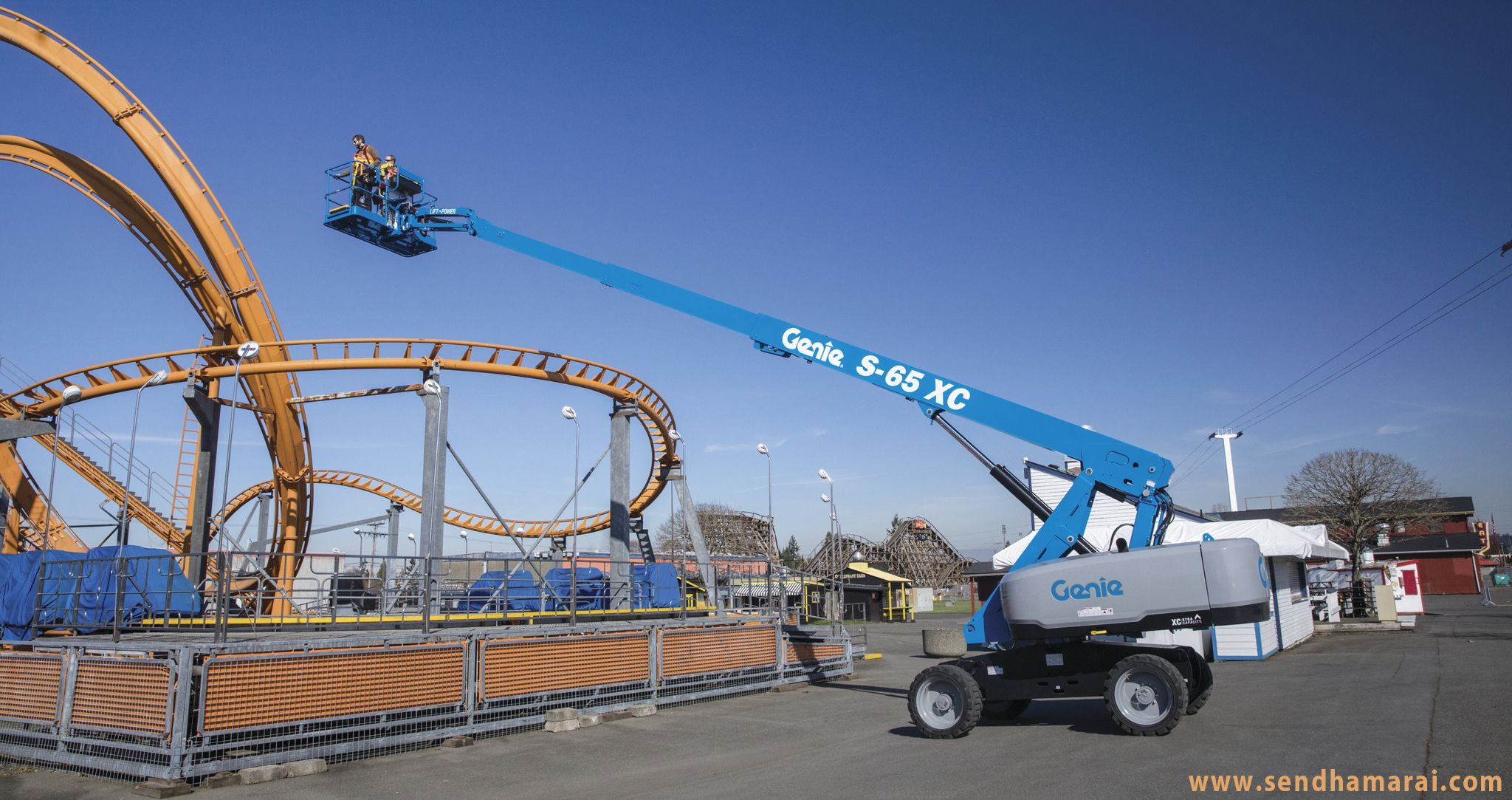 Telescopic Boom Lifts ideal for outdoor applications...