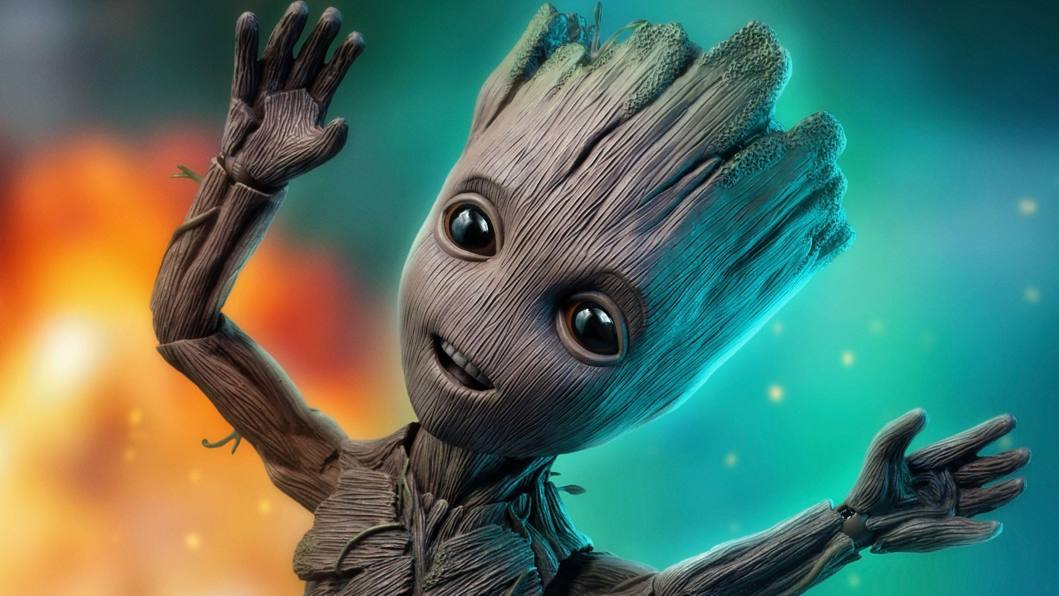 Baby Groot Wallpaper Hd Android 3d Wallpapers Marvel Aslan Kral Galeri