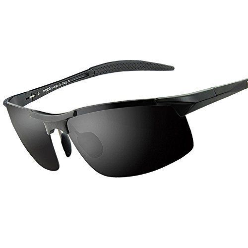 5a52fe740c Mens Sports Style Polarized Sunglasses Frame 8177S Duco  Duco