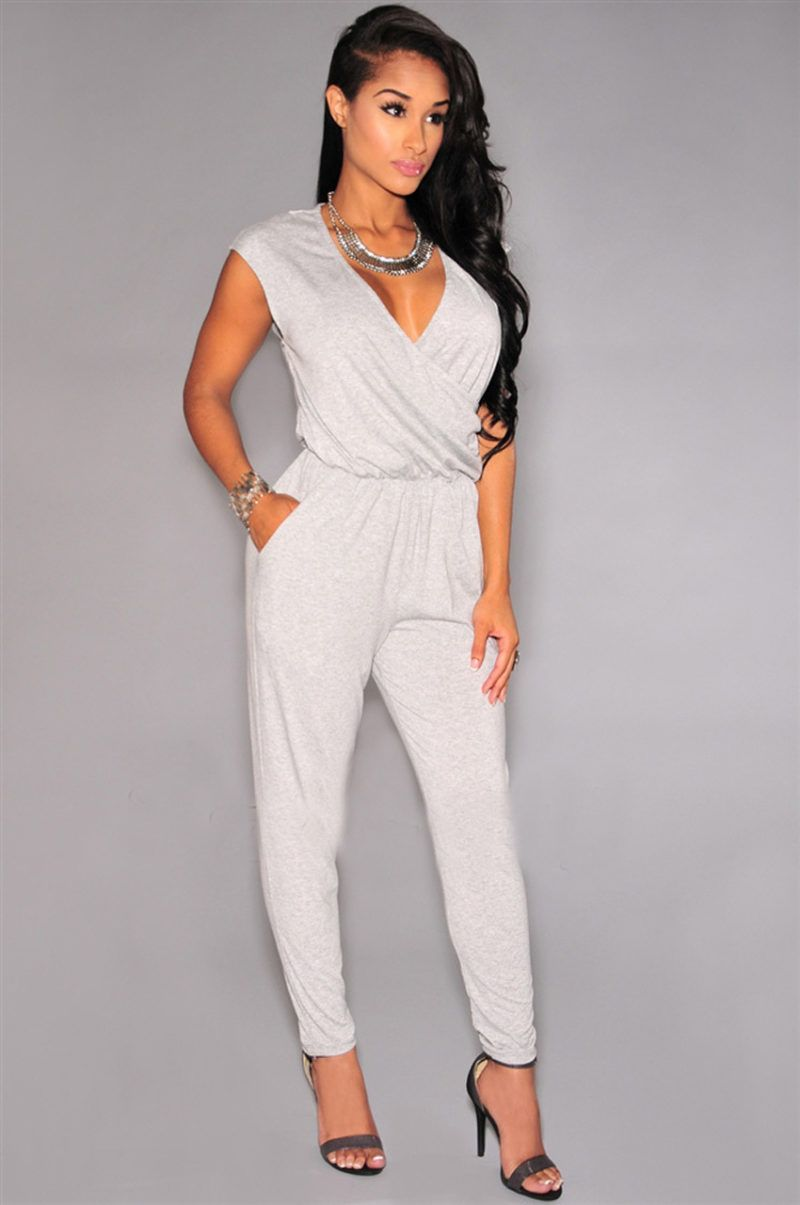 Summer Style White Jumpsuit Women Bodysuit Jumpsuits | Beautiful ...
