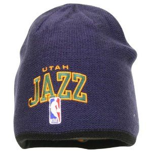 Amazon.com  Adidas NBA Reversible Embroidered Knit Hat   Beanie - Utah Jazz   Sports   Outdoors d1f9e78e5d28