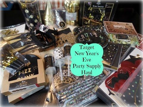 Target New Year's Eve Party Supply Haul- Dollar Spot ...