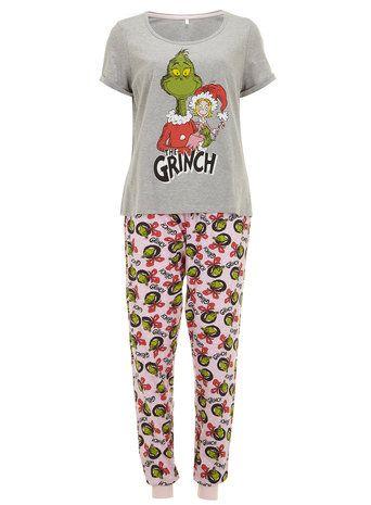 Pink Grinch Pyjamas Grinch Christmas 2c1ba5950