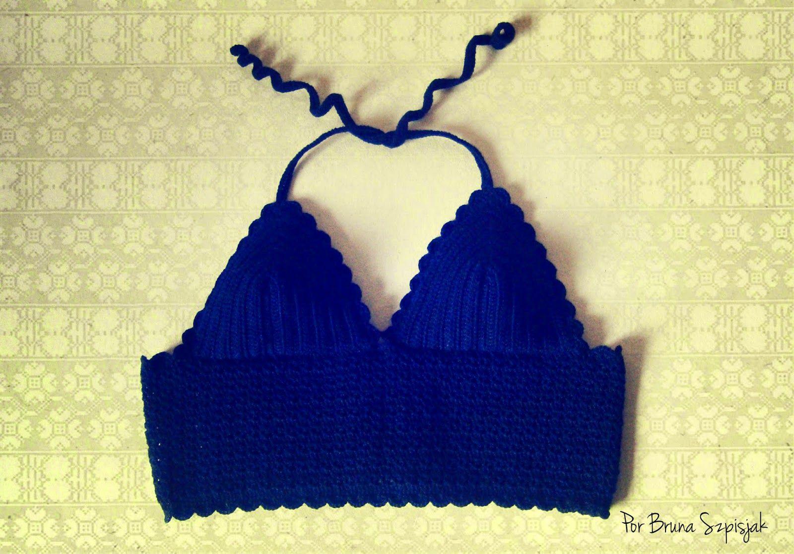 Aprendiz de Crocheteiras: Top Cropped de Crochê | Minhas Criações