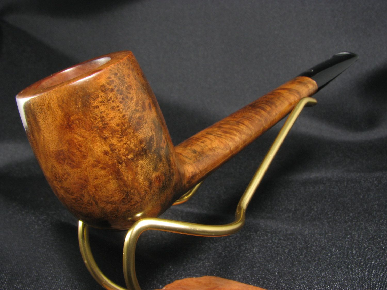Four Shillings (Orlik?) London made canadian pipe - elegant and lightly smoked by & Four Shillings (Orlik?) London made canadian pipe - elegant and ...
