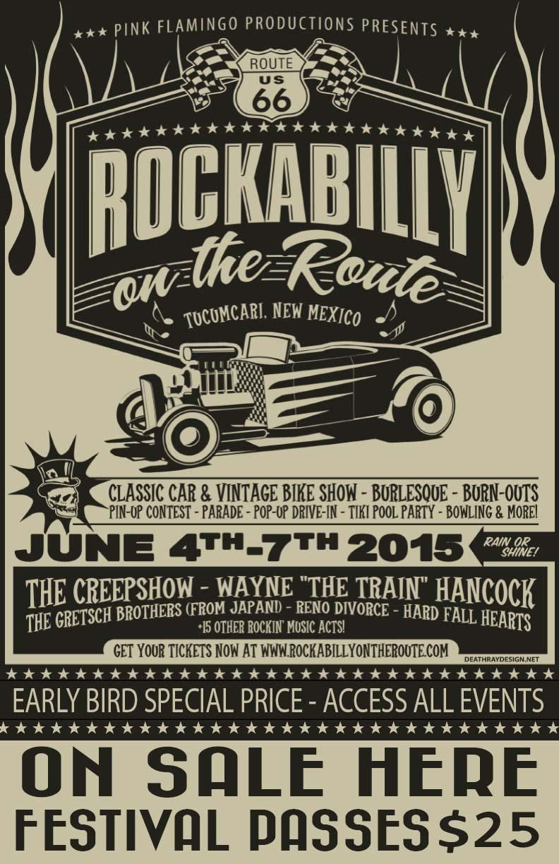 Rockabilly On The Route