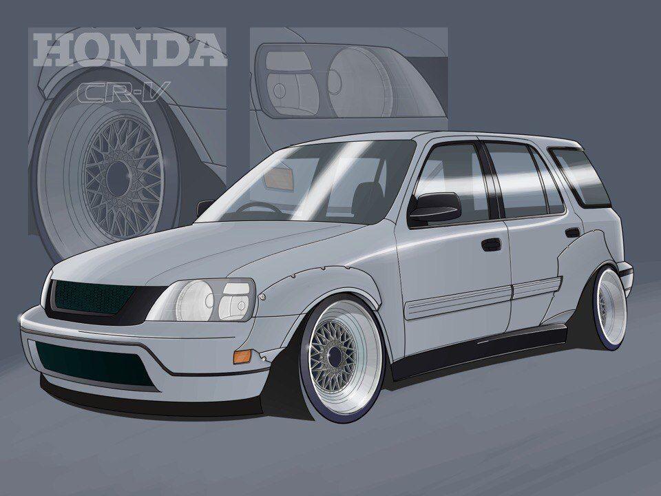 Honda Cr V Honda Cr Jdm Honda Honda Crv