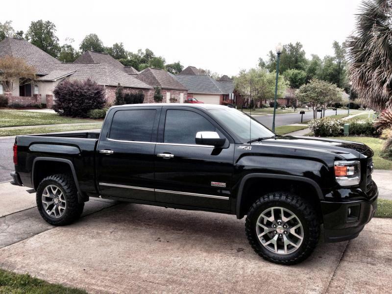 2014 Sierra Sle All Terrain Onyx Black Short Box Gmc All Terrain New Pickup Trucks Gmc Sierra 1500