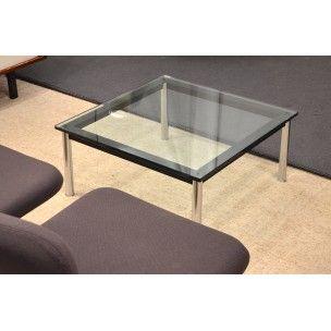 table basse lc10 le corbusier annes 80