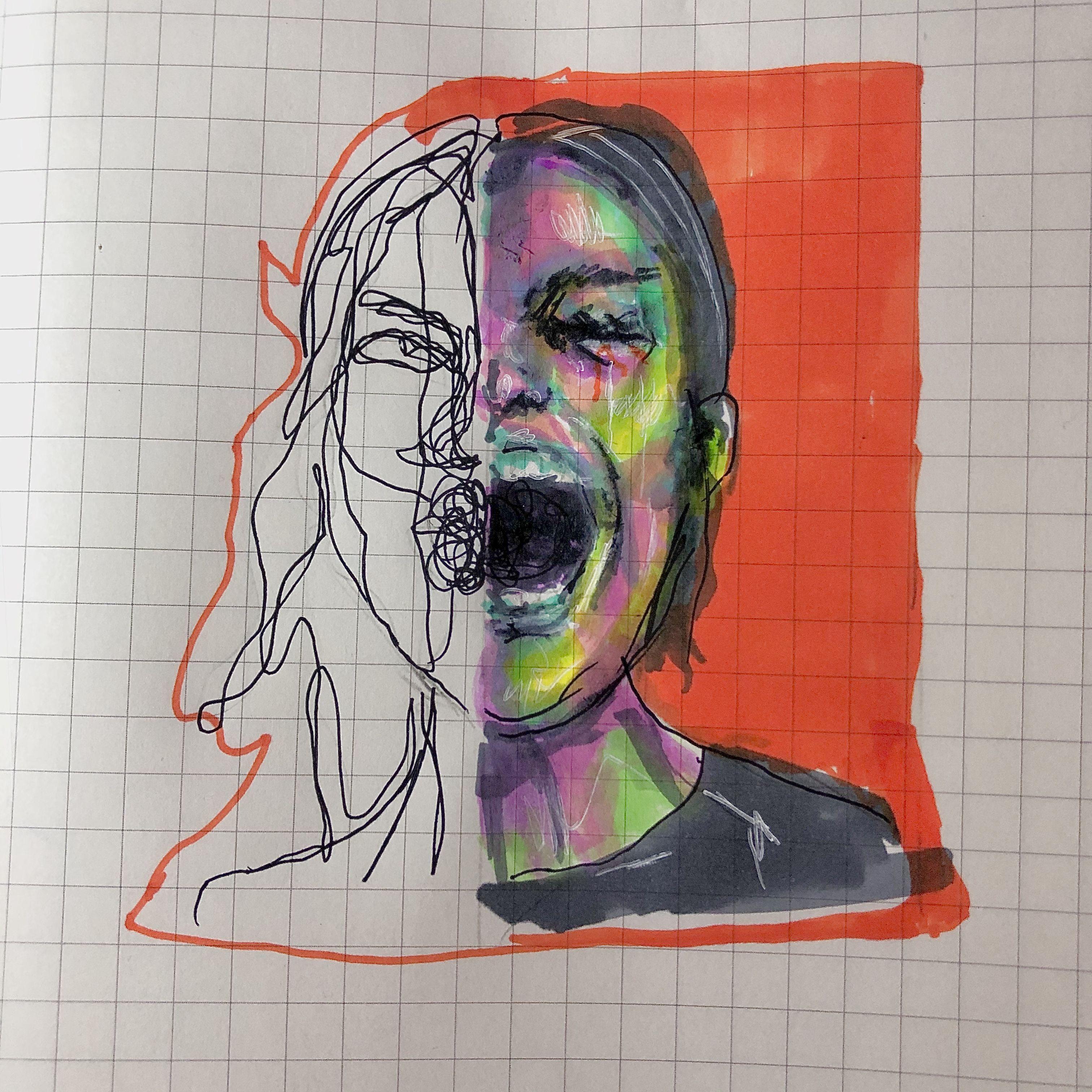 Borderline Instagram Is Keziapm Art Famous Art Paintings Art Disguise Art