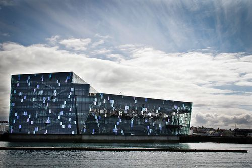 Harpa Concert Hall, Iceland