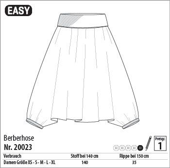 Schnitt für Aladin-Hose/Berberhose | Kleidsames, Tipps, Extras ...