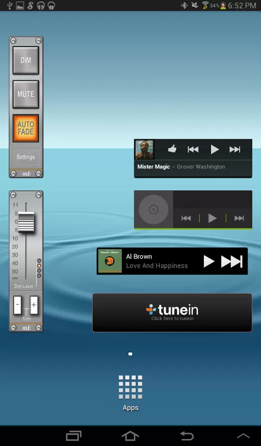 AudioBar Volume Widget v1.6 Requirements 2.1 and up
