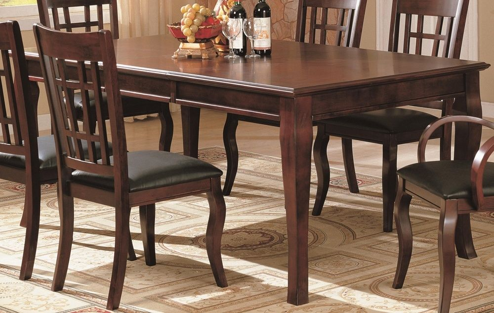 Cherry Dining Table Set Wood furniture, Cherries and Food