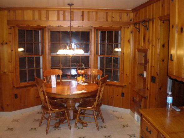 Knotty Pine Kitchens Bye We Updated Our 1950 S Original Kitchen