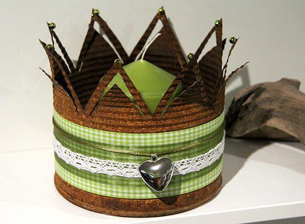 bildergebnis f r kronen basteln aus blechdosen crowns crown crafts tin can crafts crafts. Black Bedroom Furniture Sets. Home Design Ideas