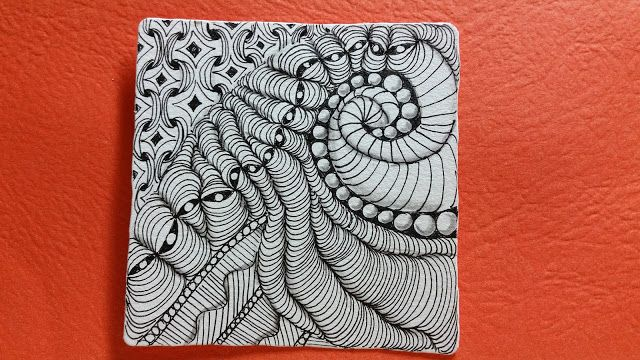 Drawing With Lines And Dots : Mr. e example steps: 1 draw a squiggly line 2 place dots at