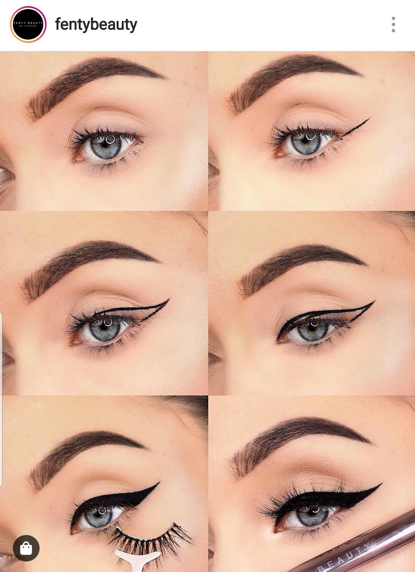 Épinglé par Einaoj Gnik sur beauty Maquillage eyeliner