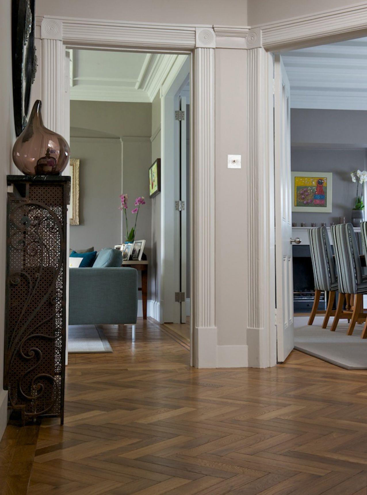 SOLID floor | roomset | oak herringbone dalton