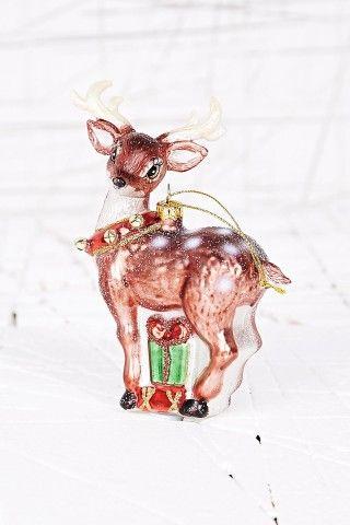 Vintage Reindeer Christmas Decoration - I love this little reindeer!