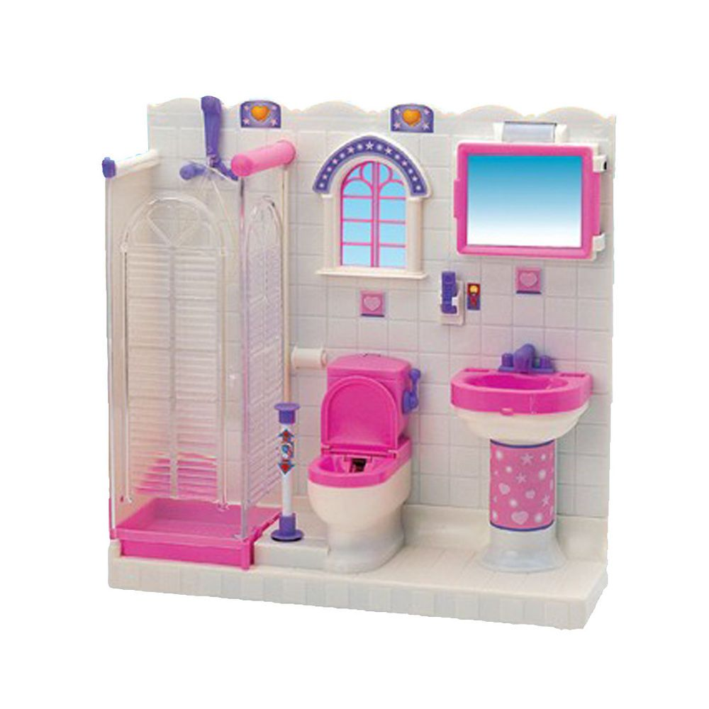 Pin By Mikisaman234 Natsumi On 1995 Dollhouse Bathroom Furniture
