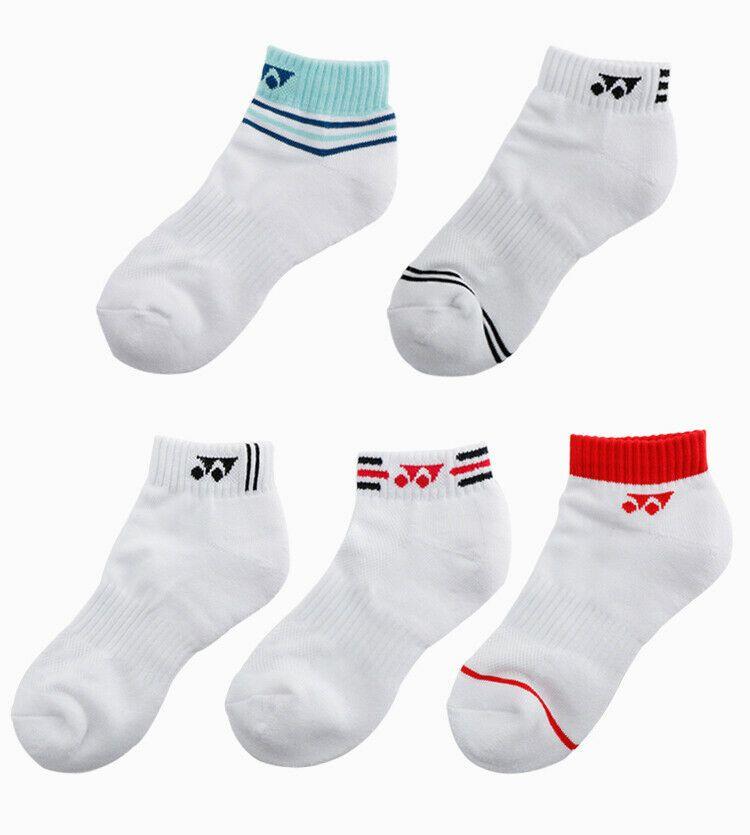 Yonex Women S Tennis Badminton 5 Pairs Socks Set Cotton Casual Socks 99sn028f Yonex Womens Tennis Casual Socks Yonex