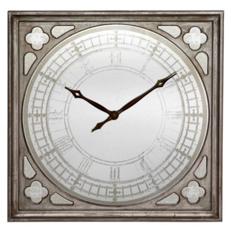 Pascual Wall Clock From Z Gallerie 500 Generous In Size