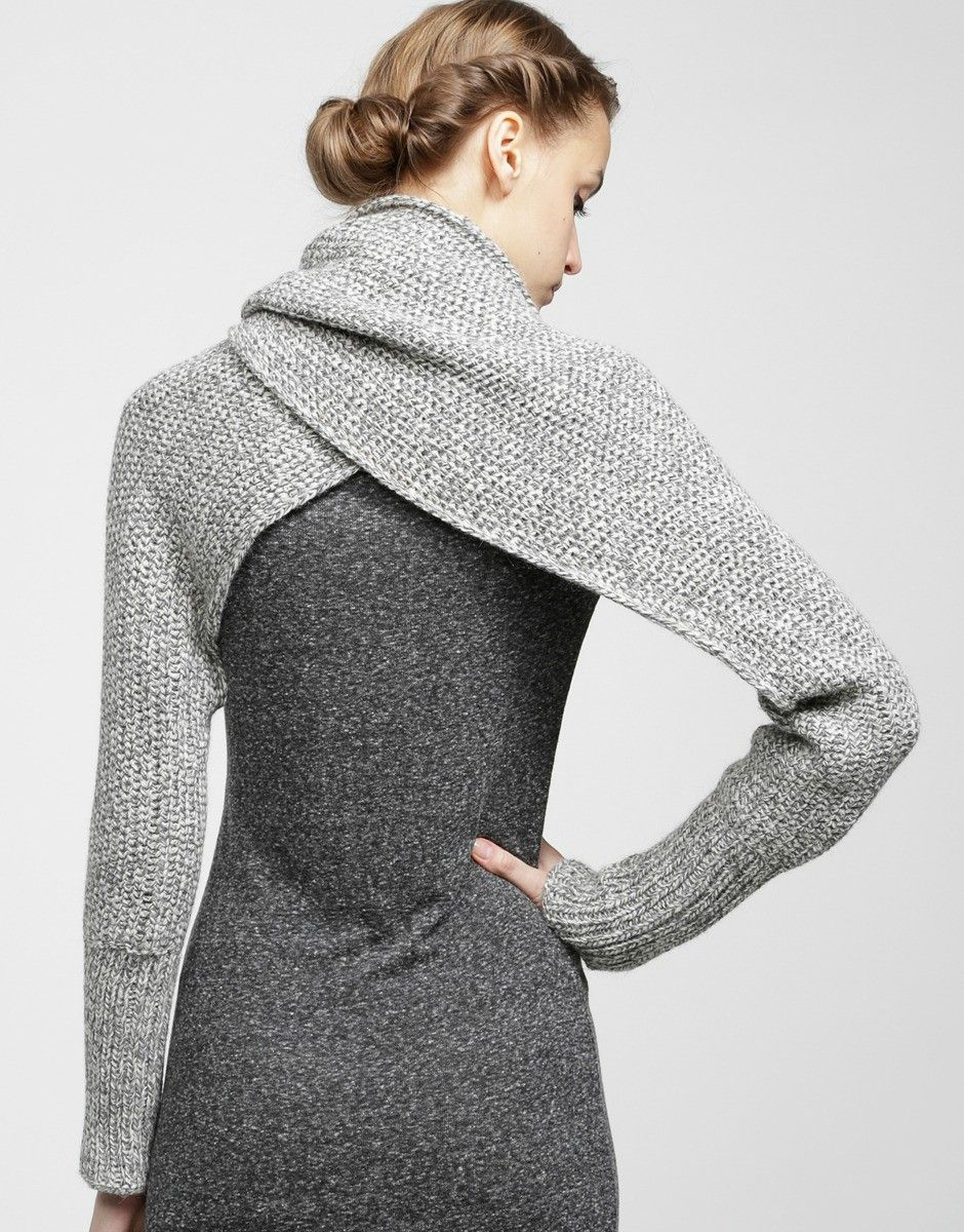 Cowl with sleeves - Imgur