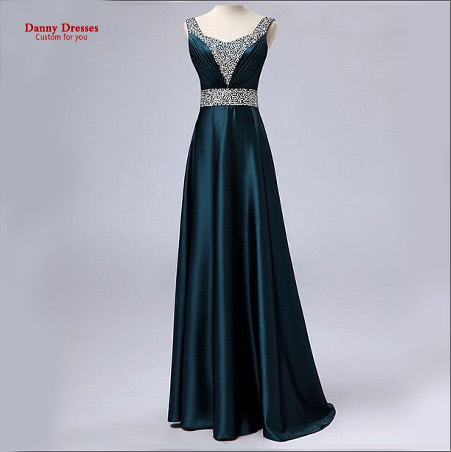Cheap sale new fashion gold color formal long design the plus